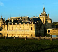Chantilly Castle, France by rubbish-art