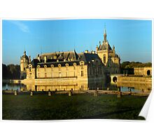 Chantilly Castle, France Poster