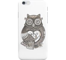 The Timely Owl iPhone Case/Skin