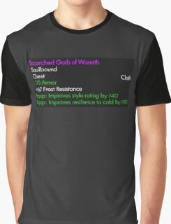 Scorched Garb of Warmth Graphic T-Shirt