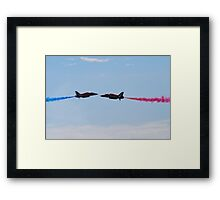Red Arrows Pair Framed Print