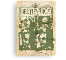 Beetlesjuice Canvas Print