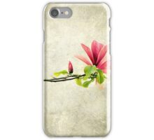 Branche de Magnolia iPhone Case/Skin