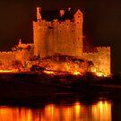 Eilean Donan Castle at night by Steve