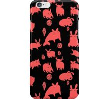 Weebeasts (red) iPhone Case/Skin