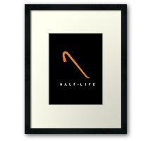Half Life Gordon Freeman Weapon  Framed Print