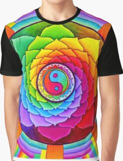 Healing Lotus Graphic T-Shirt