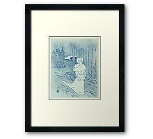 La Chatelaine (Le Tocsin) Framed Print