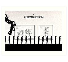 99 Steps of Progress - Reproduction Art Print