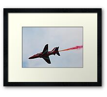 Red Arrows Underside Framed Print