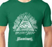 White Illuminati Unisex T-Shirt