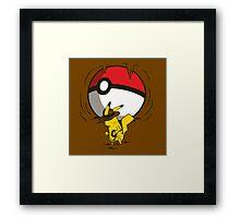 Pikachu Jones Framed Print