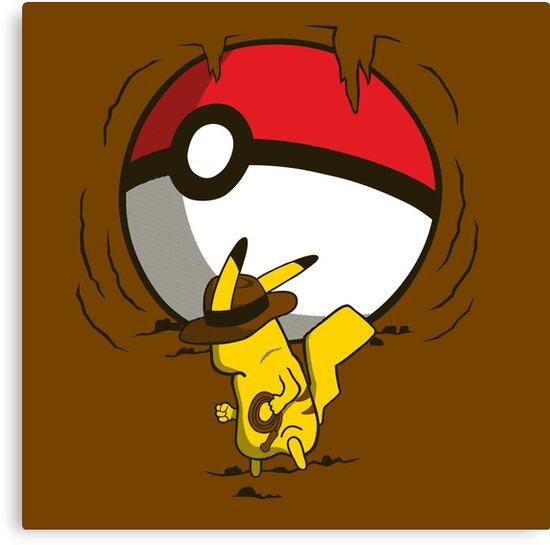 Pikachu Jones by KentZonestar
