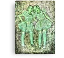 porcelain dolls Canvas Print
