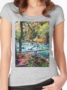 Pacific Northwest Wonderland Women's Fitted Scoop T-Shirt