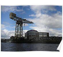 Titan Crane, Barclay Curle's Clydeholm Yard, Whiteinch, Glasgow Poster