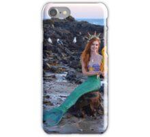 A Mermaid's Little Friends iPhone Case/Skin