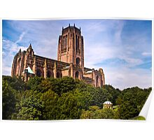 Liverpool Anglican Cathedral Poster