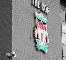 Liverpool FC The Kop by Paul Madden