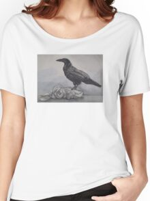 Ravens and Roses Women's Relaxed Fit T-Shirt