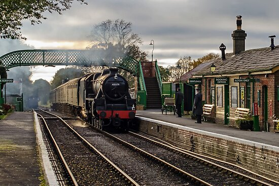 The Watercress Line by Steve  Liptrot