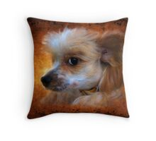 Portrait Of Hudson Throw Pillow