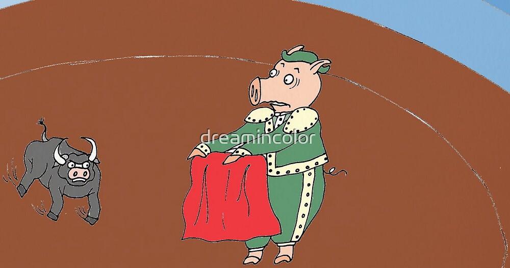El Matador Pig by Kerry Cillo