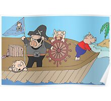 Pirate Pigs  Poster