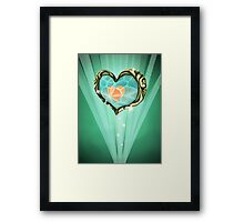 Heart Container Framed Print