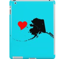 Heart Alaska (color selection 2 of 3) iPad Case/Skin