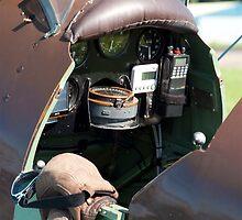 Tiger Moth cockpit by Martyn Franklin