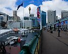 Pymont Bridge over Darling Harbour by Yukondick