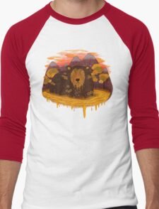 HONEY HIBERNATION Men's Baseball ¾ T-Shirt