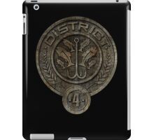 District 4 iPad Case/Skin