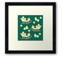 Christmas Sleigh & Presents #5 Framed Print