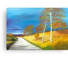 Autumn near Loch Muick Canvas Print