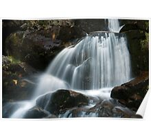 Curtain Of Water Poster