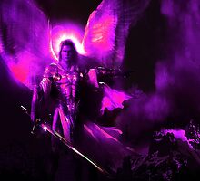 ArchAngel Michael Purple by tabikkat22
