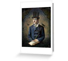 Darwin's Diary Greeting Card