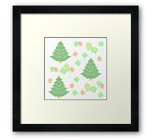 Christmas Tree with Presents #1 Framed Print