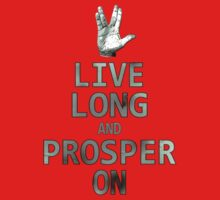 Live Long and Prosper On by Fastlines49s