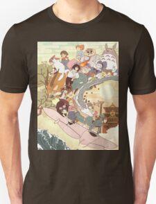 Studio Ghibli Family T-Shirt