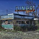 Abandoned Diner HDR by Robert Wirth
