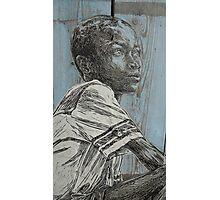 Little Boy Photographic Print