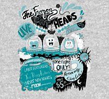 THE FROZEN CAT HEADS - LIVE!  Unisex T-Shirt