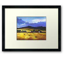 Bennachie in the Autumn Framed Print
