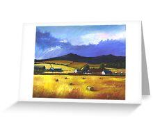 Bennachie in the Autumn Greeting Card