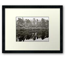Loch Ness in Winter | Scotland Framed Print