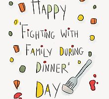 What family celebration is really about!  by twisteddoodles