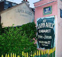 Lapin Agile Cabaret   Paris, France by rubbish-art